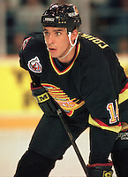 Geoff Courtnall Vancouver Canucks 1993. Photo F. Scott Grant