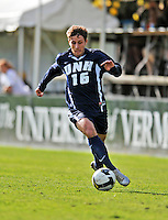 15 October 2008: University of New Hampshire Wildcats' midfielder/forward Kyle Urso, a Senior from Lombard, Ill., in action against the University of Vermont Catamounts at Centennial Field, in Burlington, Vermont. The Wildcats and Catamounts battled in overtime to a 0-0 tie...Mandatory Photo Credit: Ed Wolfstein Photo
