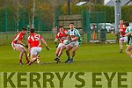 Ryan O'Neill Na Gaeil and Michael Cody Mullinahone in the Munster Junior Championship final on Sunday