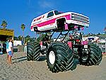Carro modificado em Los Angeles.  Foto de Juca Martins.