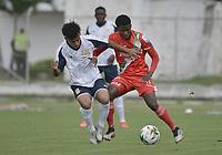 TULUA - COLOMBIA, 04-03-2021: Cortuluá y Barranquilla F.C. en partido por la fecha 9 como parte del Torneo BetPlay DIMAYOR I 2021 jugado en el estadio Doce de Octubre de la ciudad de Tuluá. / Cortulua and Barranquilla F.C. in the match for the date 9 as part of BetPlay DIMAYOR Tournament I 2021 played at Doce de Octubre stadium in Tulua city. Photo: VizzorImage / Gabriel Aponte / Staff
