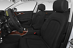 Front seat view of 2017 Audi A6 Prestige 4 Door Sedan front seat car photos