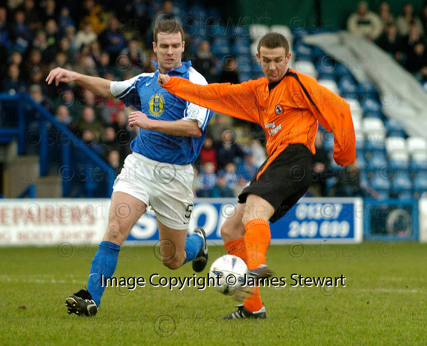 05/02/2005  Copyright Pic : James Stewart.File Name : jspa10_qots_v_dundee_utd.JIM MCINTYRE SCORES THE FIRST...Payments to :.James Stewart Photo Agency 19 Carronlea Drive, Falkirk. FK2 8DN      Vat Reg No. 607 6932 25.Office     : +44 (0)1324 570906     .Mobile   : +44 (0)7721 416997.Fax         : +44 (0)1324 570906.E-mail  :  jim@jspa.co.uk.If you require further information then contact Jim Stewart on any of the numbers above.........A