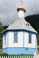 St Nicholas Russian Orthodox Church, Juneau, Alaska, USA,