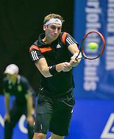 19-12-13,Netherlands, Rotterdam,  Topsportcentrum, Tennis Masters, , , Thiemo de Bakker(NED)   Matwé Middelkoop(NED)<br /> Photo: Henk Koster