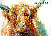 Simon, REALISTIC ANIMALS, REALISTISCHE TIERE, ANIMALES REALISTICOS, innovative, paintings+++++A_ValerieDeRozarieux_HighlandCutie,GBWR256,#a#, EVERYDAY