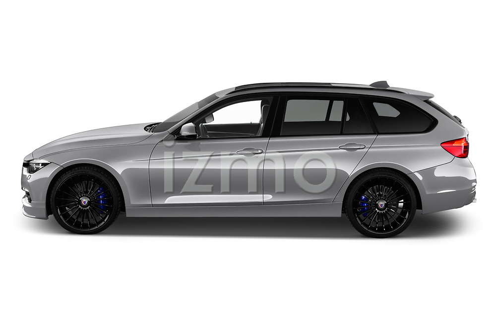 Car driver side profile view of a 2018 Alpina B3 S Touring Base 5 Door Wagon
