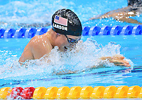 July 30, 2012..Breeja Larson competes in Women's 100m Breaststroke Final at the Aquatics Center on day three of 2012 Olympic Games in London, United Kingdom.