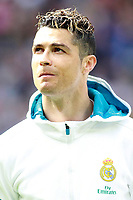Real Madrid's Cristiano Ronaldo during La Liga match. April 8,2018.  *** Local Caption *** © pixathlon<br /> Contact: +49-40-22 63 02 60 , info@pixathlon.de