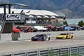 Pirelli World Challenge<br /> Grand Prix of Utah<br /> Utah Motorsports Campus, Tooele, UT USA<br /> Saturday 12 August 2017<br /> Peter Kox/ Mark Wilkins<br /> World Copyright: Richard Dole/LAT Images<br /> ref: Digital Image _RD24457