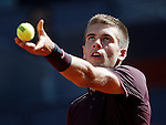 Born Coric, Croatia, during Madrid Open Tennis 2016 match.May, 4, 2016.(ALTERPHOTOS/Acero)