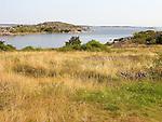 View of Islands off Kökar, Åland, Finland