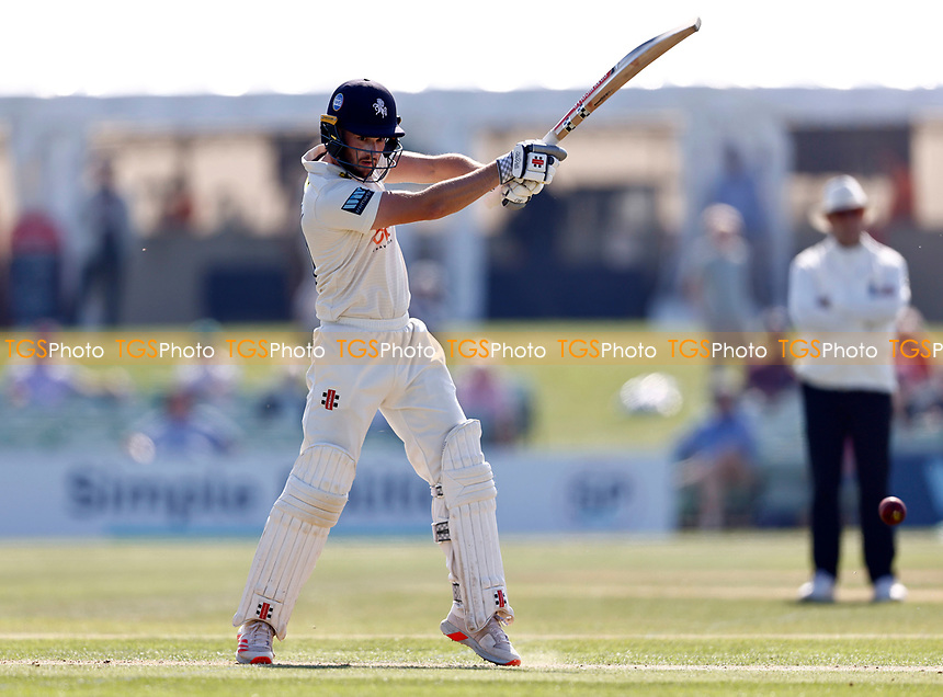 Ollie Robinson bats for Kent during Kent CCC vs Worcestershire CCC, LV Insurance County Championship Division 3 Cricket at The Spitfire Ground on 5th September 2021