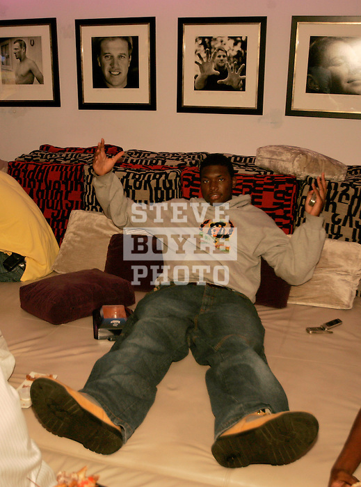 Rick Jackson was at Jay Z's 40/40 Club to watch MTV's Video Music Awards on TV on August 31, 2006.  The high school players were in town for the Elite 24 Hoops Classic, which brought together the top 24 high school basketball players in the country regardless of class or sneaker affiliation.
