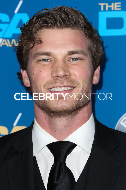 CENTURY CITY, CA - JANUARY 25: Derek Theler at the 66th Annual Directors Guild Of America Awards held at the Hyatt Regency Century Plaza on January 25, 2014 in Century City, California. (Photo by Xavier Collin/Celebrity Monitor)