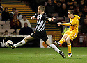 MOTHERWELL'S NICKY LAW SCORES MOTHERWELL'S SECOND GOAL