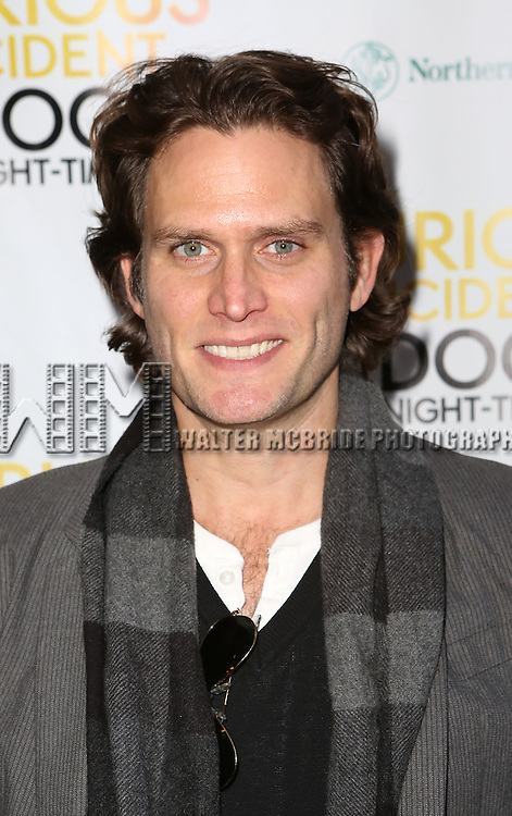 Steven Pasquale attends the Broadway Opening Night Performance of 'The Curious Incident of the Dog in the Night-Time'  at the Barrymore Theatre on October 5, 2014 in New York City.