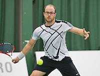Rotterdam, Netherlands, Januari 24, 2016,  ABNAMROWTT Supermatch, Daniel Fennis (NED)<br /> Photo: Tennisimages/Henk Koster