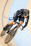 Natasha Hansen of the New Zealand team comptes in the Women's Sprint - Qualifying as part of the 2017 UCI Track Cycling World Championships on 13 April 2017, in Hong Kong Velodrome, Hong Kong, China. Photo by Chris Wong / Power Sport Images