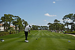 PALM BEACH GARDENS, FL. - Rory McIlroy tees off on hole 8 during Round Two play at the 2009 Honda Classic - PGA National Resort and Spa in Palm Beach Gardens, FL. on March 6, 2009.