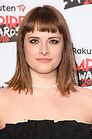 Hannah Britland<br /> arriving for the Empire Awards 2018 at the Roundhouse, Camden, London<br /> <br /> ©Ash Knotek  D3389  18/03/2018