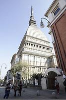 Una veduta della Mole Antonelliana a Torino.<br /> A view of the Mole Antonelliana in Turin.<br /> UPDATE IMAGES PRESS/Riccardo De Luca
