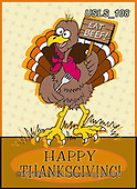 Lori, CUTE ANIMALS, LUSTIGE TIERE, ANIMALITOS DIVERTIDOS, halloween, paintings+++++3-Turkey_Happy Thanksgiving,USLS108,#ac#, EVERYDAY