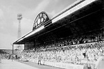 The North Stand on infra red film before the last league game ever played at Ayresome Park. Boro 2 Luton 1, 30th April 1995.