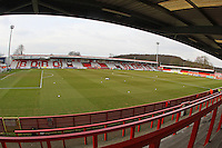 General view of the ground during Stevenage vs Exeter City, Sky Bet League 2 Football at the Lamex Stadium, Stevenage