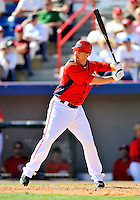 2 March 2011: Washington Nationals first baseman Adam LaRoche in Spring Training action against the Florida Marlins at Space Coast Stadium in Viera, Florida. The Nationals defeated the Marlins 8-4 in Grapefruit League action. Mandatory Credit: Ed Wolfstein Photo