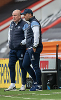 Queens Park Rangers manager Mark Warburton  (left) and assistant manager John Eustace (right) <br /> <br /> Photographer David Horton/CameraSport<br /> <br /> The EFL Sky Bet Championship - Bournemouth v Queens Park Rangers - Saturday 17th October 2020 - Vitality Stadium - Bournemouth<br /> <br /> World Copyright © 2020 CameraSport. All rights reserved. 43 Linden Ave. Countesthorpe. Leicester. England. LE8 5PG - Tel: +44 (0) 116 277 4147 - admin@camerasport.com - www.camerasport.com