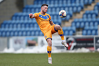 Ollie Clarke of Mansfield Town during Colchester United vs Mansfield Town, Sky Bet EFL League 2 Football at the JobServe Community Stadium on 14th February 2021