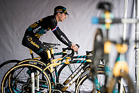 Lars van der Haar (NED/Telenet Baloise Lions) warming up pre-race<br /> <br /> Elite & U23 Mens Race<br /> 42nd Superprestige cyclocross Gavere 2019<br /> <br /> ©kramon