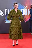 """**North America Only***<br /> <br /> Olivia Colman attends """"The Lost Daughter"""" UK Premiere at The Royal Festival Hall during the 65th BFI London Film Festival in London.<br /> <br /> OCTOBER 13th 2021<br /> <br /> Credit: Matrix / MediaPunch"""