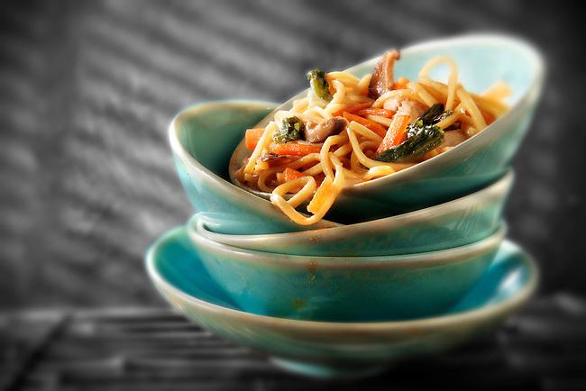 Chinese Stir fried vegetables & noodles