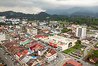 Taiping Cityscape, Malaysia.