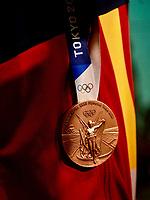 2021.08.02 Barcelona , llegada Atletas Olimpicos