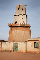 As it stands today, is believed to have been built during the tenure of King Muhammadu Korau who reigned between 1348-1398. The minaret was built by the local craftsmen using mainly sun-baked clay and mud.
