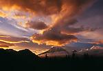 Mount Rainier viewed from the southeast, Washington.