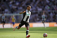 28th August 2021; St James Park, Newcastle upon Tyne, England; EPL Premier League football, Newcastle United versus Southampton; Callum Wilson of Newcastle United on the ball