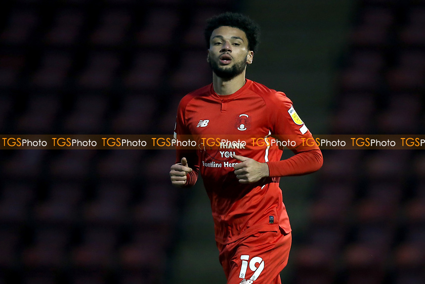 Lee Angol of Leyton Orient during Leyton Orient vs Crawley Town, Sky Bet EFL League 2 Football at The Breyer Group Stadium on 19th December 2020