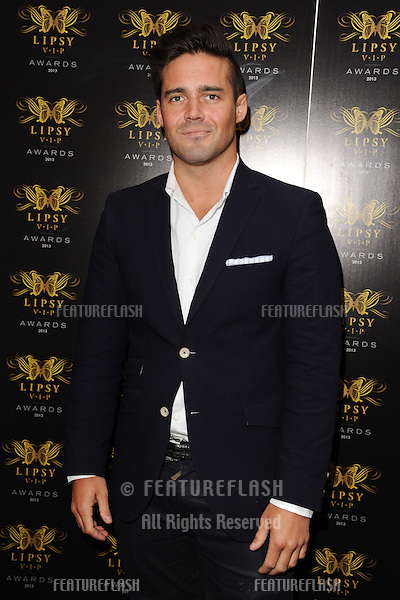 Spencer Matthews arriving for the Lipsy Fashion Awards,  at Dstrkt, London. 29/05/2013 Picture by: Steve Vas / Featureflash
