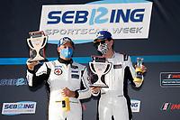 #24: Sean Creech Motorsport Ligier JS P3, P3-2: Francesco Melandri, Nigel Greensall, podium