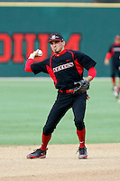 Ryan O'Sullivan  - 2009 San Diego State Aztecs playing against the Texas Christian Horned Frogs at Tony Gwynn Stadium, San Diego, CA - 04/24/2009 .Photo by:  Bill Mitchell/Four Seam Images