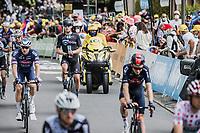 Casper Pedersen (DEN/DSM)<br /> <br /> Stage 4 from Redon to Fougéres (150.4km)<br /> 108th Tour de France 2021 (2.UWT)<br /> <br /> ©kramon