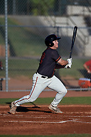 AZL Giants Black Harrison Freed (32) at bat during an Arizona League game against the AZL Angels at the Giants Baseball Complex on June 21, 2019 in Scottsdale, Arizona. AZL Angels defeated AZL Giants Black 6-3. (Zachary Lucy/Four Seam Images)
