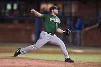 Savannah Sand Gnats starting pitcher Robert Gsellman #26 delivers a pitch during a game against the Asheville Tourists at McCormick Field September 3, 2014 in Asheville, North Carolina. The Tourists defeated the Sand Gnats 8-3. (Tony Farlow/Four Seam Images)