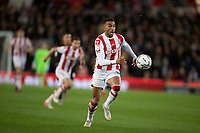 1st October 2021;  Bet365 Stadium, Stoke, Staffordshire, England; EFL Championship football, Stoke City versus West Bromwich Albion; Jacob Brown of Stoke City
