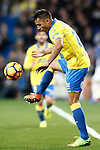 UD Las Palmas' David Simon during La Liga match. March 1,2017. (ALTERPHOTOS/Acero)