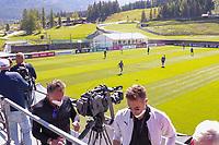 Medien beobachten das Training - Seefeld 31.05.2021: Trainingslager der Deutschen Nationalmannschaft zur EM-Vorbereitung